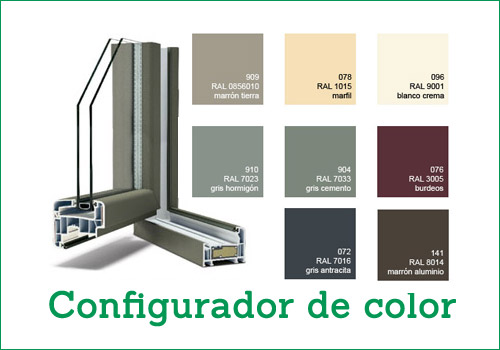 configurador de color